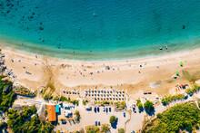 Coral Bay Beach Aerial View. F...
