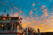 Riverboat, Paddleboat, Georgia Queen, Savannah, Historic Savannah, Georgia, River Street