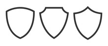 Set Of Vector Shield Icons Iso...
