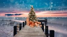 Weihnachten Am Meer