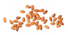 Almond Nuts Isolated On White ...