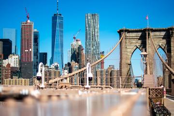New York City from Brooklyn Bridge
