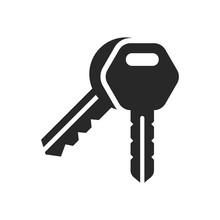 Key Icon Vector Symbol Illustr...
