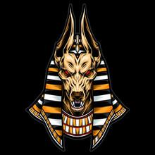 Anubis Vector Logo And Illustration