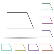 Wrong Quadrilateral Multi Colo...