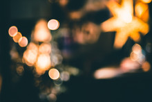 Abstract Bokeh Living Room Dec...