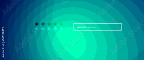 Abstract color gradient fluid design background Wallpaper Mural