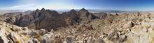 Joshua Tree Desert Mountain Panorama