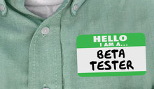 Beta Tester Name Tag Early Rel...