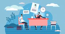Job Interview Vector Illustrat...