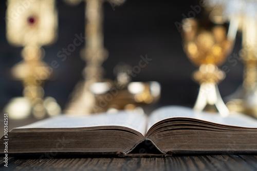Obraz na plátně Roman Catholic Church theme