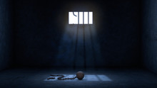 Ball And Chain For Prisoner In...