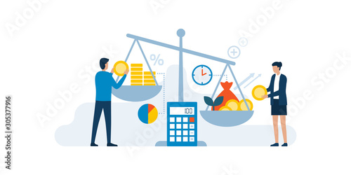 Fotografía Return on investment concept