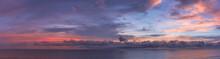 Sunset Panoramic View Cox's ...