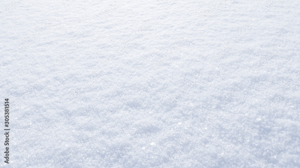 Fototapety, obrazy: Winter snow background. The texture of fresh, clean, sparkling, freshly fallen snow