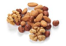 Mix Of Nuts. Hazelnuts, Walnut...