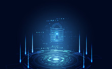 Abstract Technology Cyber Secu...