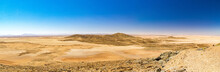 Panorama Of The Barren Moonscape Namib Desert, Naukluft Park, Namibia, Africa