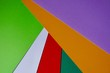 abstract background of colored papers, colorful lines