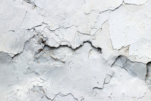 Fine Cracks In The Plaster - Grunge Texture