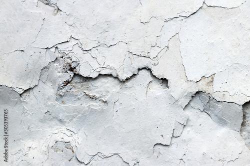 Canvastavla  Fine cracks in the plaster - grunge texture