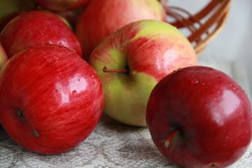 Fototapeta na wymiar An apple a day keeps the doctor away