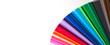 Leinwanddruck Bild - Colors background