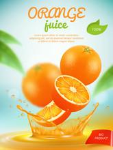 Juice Placard. Advertizing Ban...