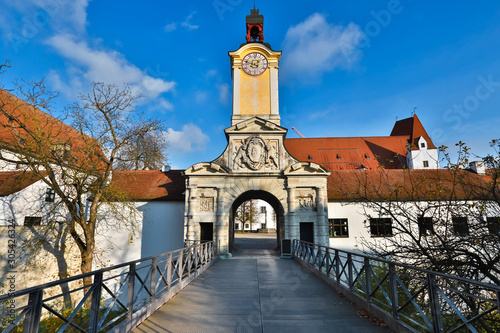 Fotografia, Obraz ingolstadt historic castle bavaria germany