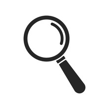 Search Icon Vector. Magnifying...