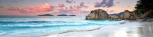 Seychellen Strand Panorama