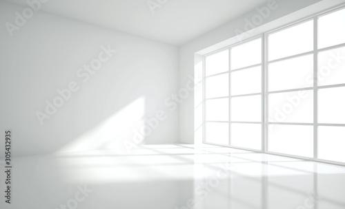 Fototapeta Modern empty interior obraz