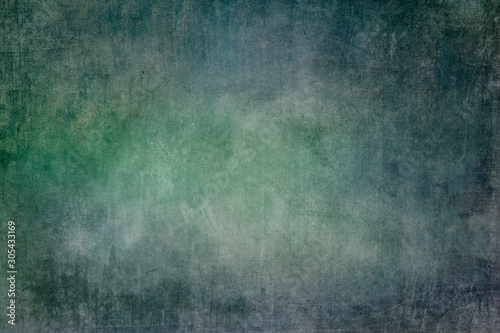 Obraz Green and blue grungy background or texture - fototapety do salonu