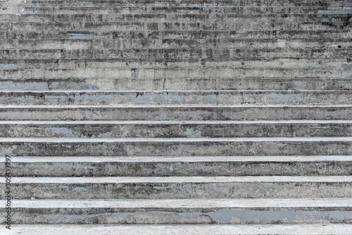 Stary betonowy schody dla abstrakcjonistycznego schodowego tła.