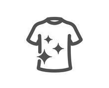 Laundry Shirt Sign. Clean T-sh...