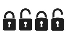 Lock Icons Set. Padlock Icons ...