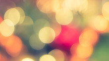 Christmas Tree Bokeh Blur Abst...