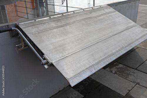 Loading Ramp Dock Fotobehang