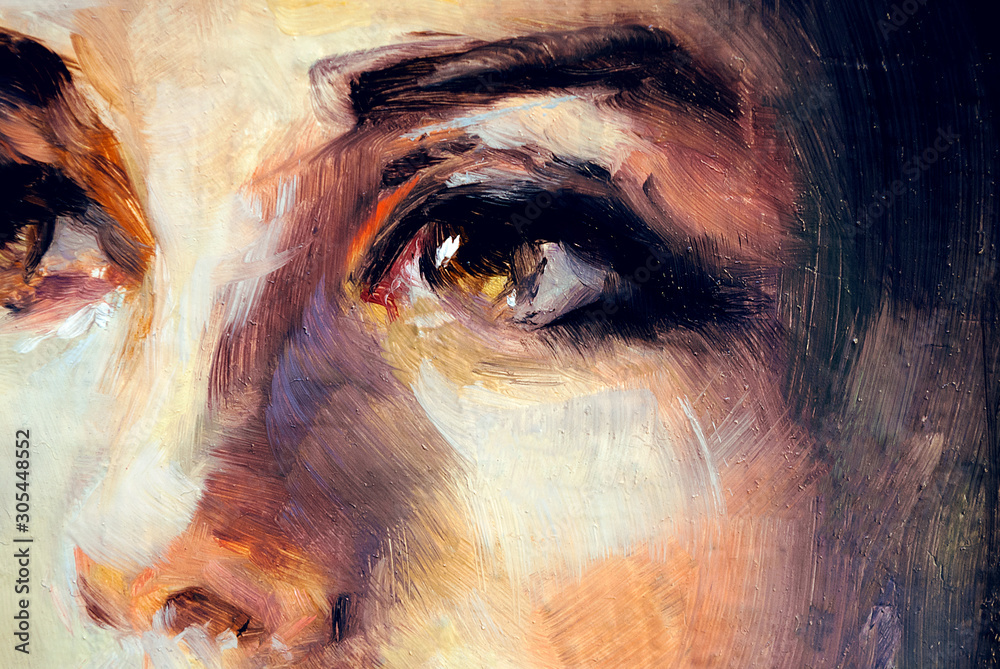 Fototapeta Eyes illustration