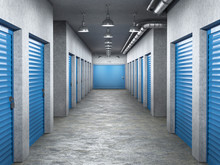 Storage Hall Interior With Loc...
