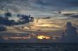 canvas print picture - florida sunset
