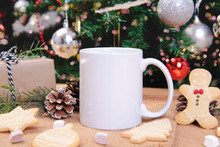 White Ceramic Coffee Cup And C...