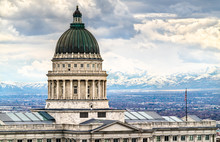 Utah State Capitol Building In...
