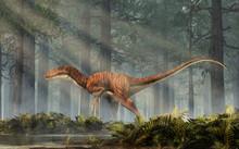Deinonychus Is A Theropod Dino...