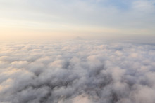 Aerial View Above The Clouds D...