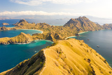 Aerial View Of Padar Island Co...