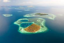 Aerial View Of Kukusan Island ...
