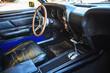 Classic vintage car interior