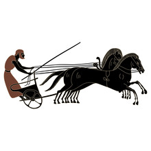 Ancient Greek Charioteer Ridin...