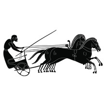 Ancient Greek Charioteer Ridin...